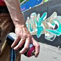 Artiestenbureau Entertainmens presenteert u de graffiti artiest
